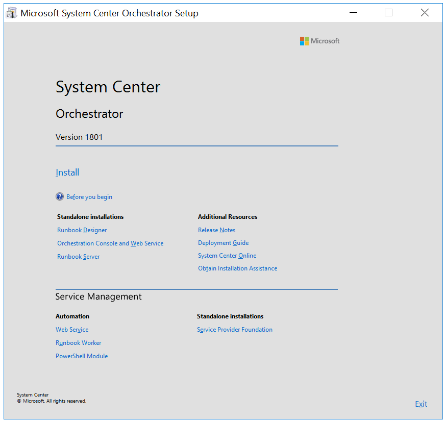 System Center 1801+ – Microsofts first release of a Semi-Annual System Center version