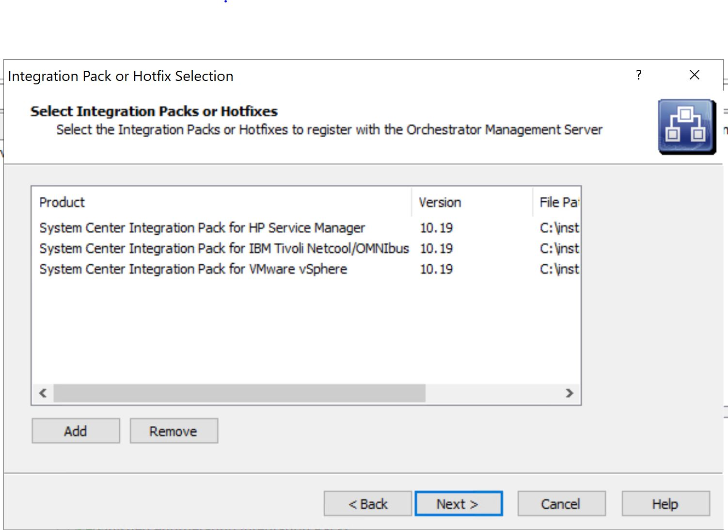 Microsoft released also System Center 2109 Integration Packs for 3rd party Systems