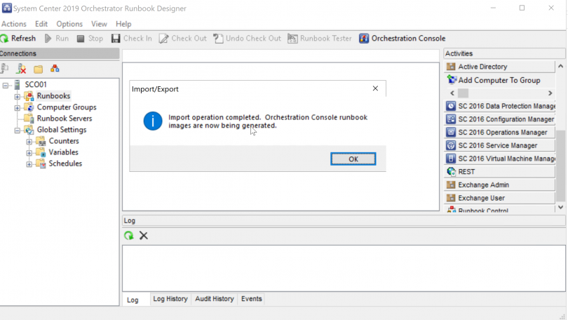 Upgrade to System Center 2019 Orchestrator | sc-orchestrator